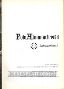 Foto Almanach 1958 international