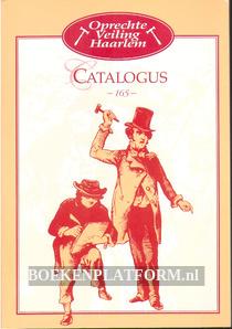 Oprechte Veiling Haarlem, catalogus 165