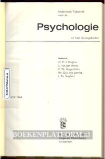 Nederlands tijdschrift voor de Psychologie 1964