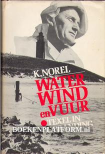 Water Wind en Vuur Texel in de branding