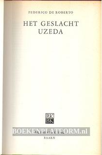 Het geslacht Uzeda