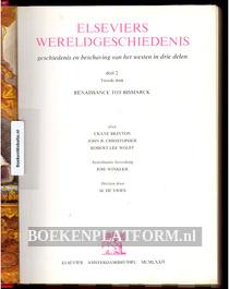 Elseviers Wereld geschiedenis **