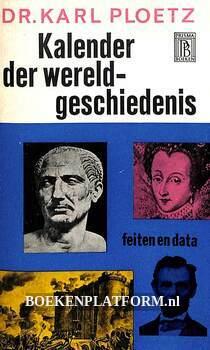 0655 Kalender der wereldgeschiedenis