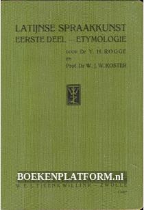 Latijnse Spraakkunst