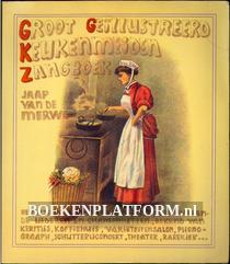 Groot geillustreerd keukenmeiden zangboek