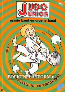 Judo junior oranje band en groene band