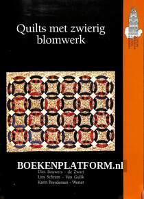 Quilts met zwierig blomwerk