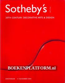 Sotheby's 20th Century Decorative Arts & Design
