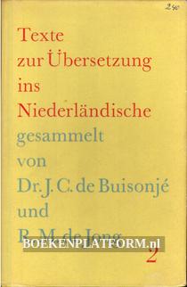Texte zur Übersetzung ins Nederländische 2