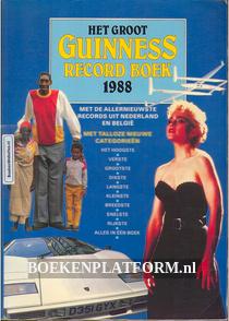 Het groot Guinness Recordboek 1988
