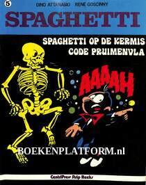 Spaghetti op de kermis, Code pruimenvla