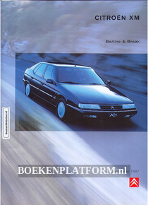 Citroen XM Berline & Break 1997 brochure