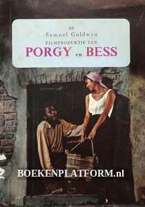 Brochure filmproduktie van Porgy en Bess