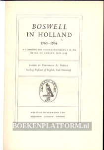 Boswell in Holland