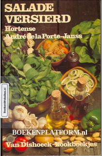Salade versierd