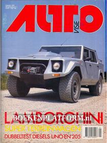 Autovisie 1987 Complete jaargang