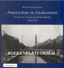 Amsterdam in fotokaarten 1900-1940