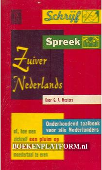 0096 Schrijf, spreek Zuiver Nederlands