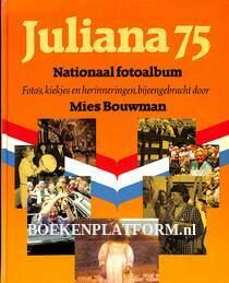 Juliana 75 jaar Nationaal fotoalbum