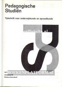 Paedagogische studien 1971