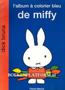 L'album a colorier bleu de Miffy