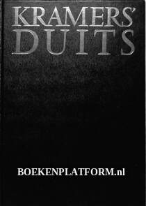 Kramer's Duits woordenboek  D-N / N-D