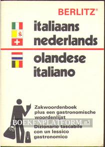 Zakwoorden-boek Italiaans Nederlands en N-I