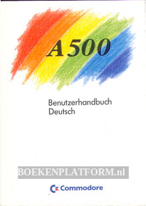 Benutzerhandbuch Commodore A500