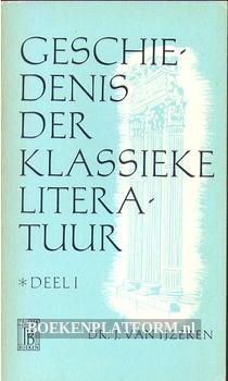 0329 Geschiedenis der klassieke literatuur I
