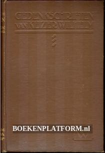 Gedenkschriften van keizer Wilhelm 1878-1918