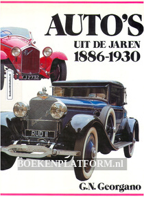 Auto's uit de jaren 1886-1930