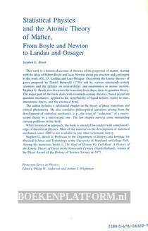Statistical Physics and the Atomic Theory of Matter