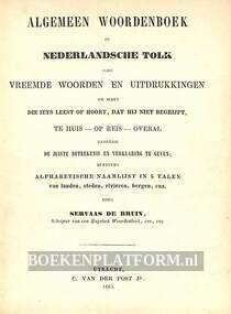 Algemeen woordenboek of Nederlandsche tolk