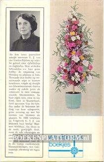 Bloemen schikken