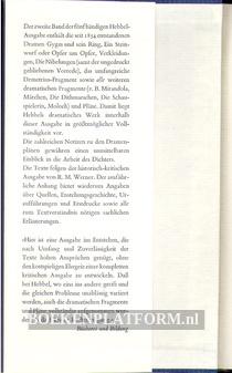 Friedrich Hebbel Werke 2