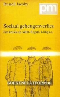 Sociaal geheugenverlies