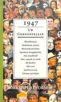 1947 Uw geboortejaar