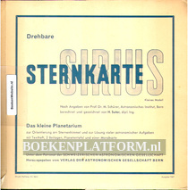 Drehbare Sirius Sternkarte