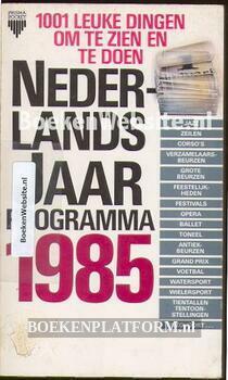 2515 Nederlands jaarprogramma 1985