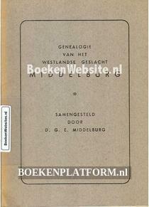Genealogie van het Westlandse geslacht Middelburg