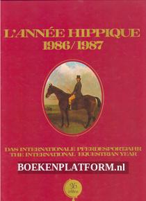 L'Annee Hippique 1986/1987