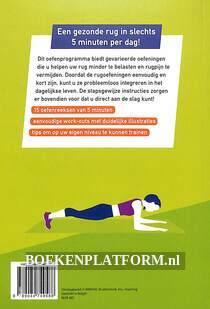5 minuten Work Outs voor een sterke rug