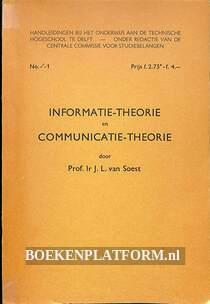Informatie-theorie en Communicate-theorie
