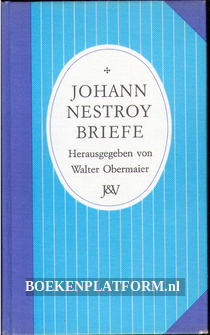 Johann Nestroy Briefe