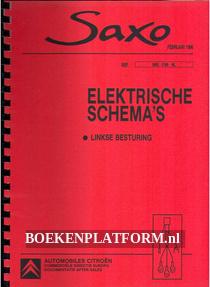 Citroen Saxo, Elektrische schema's, linkse besturing