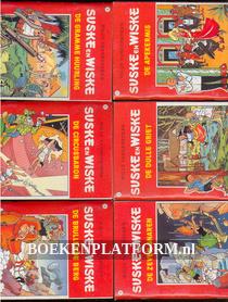 16 Miniboekjes Suske en Wiske deel 1 t/m 16