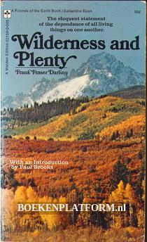 Wilderness and Plenty