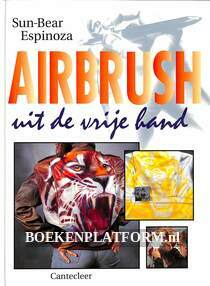 Airbrush uit de vrije hand
