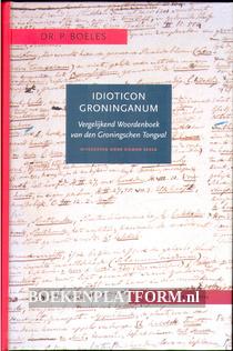 Idioticon Groninganum