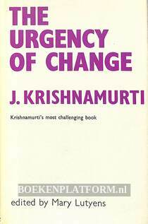 The Urgency of Change